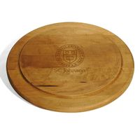 SC Johnson College Round Bread Server