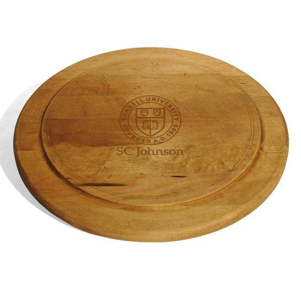 SC Johnson College Round Bread Server - Image 1