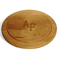 USAFA Round Bread Server