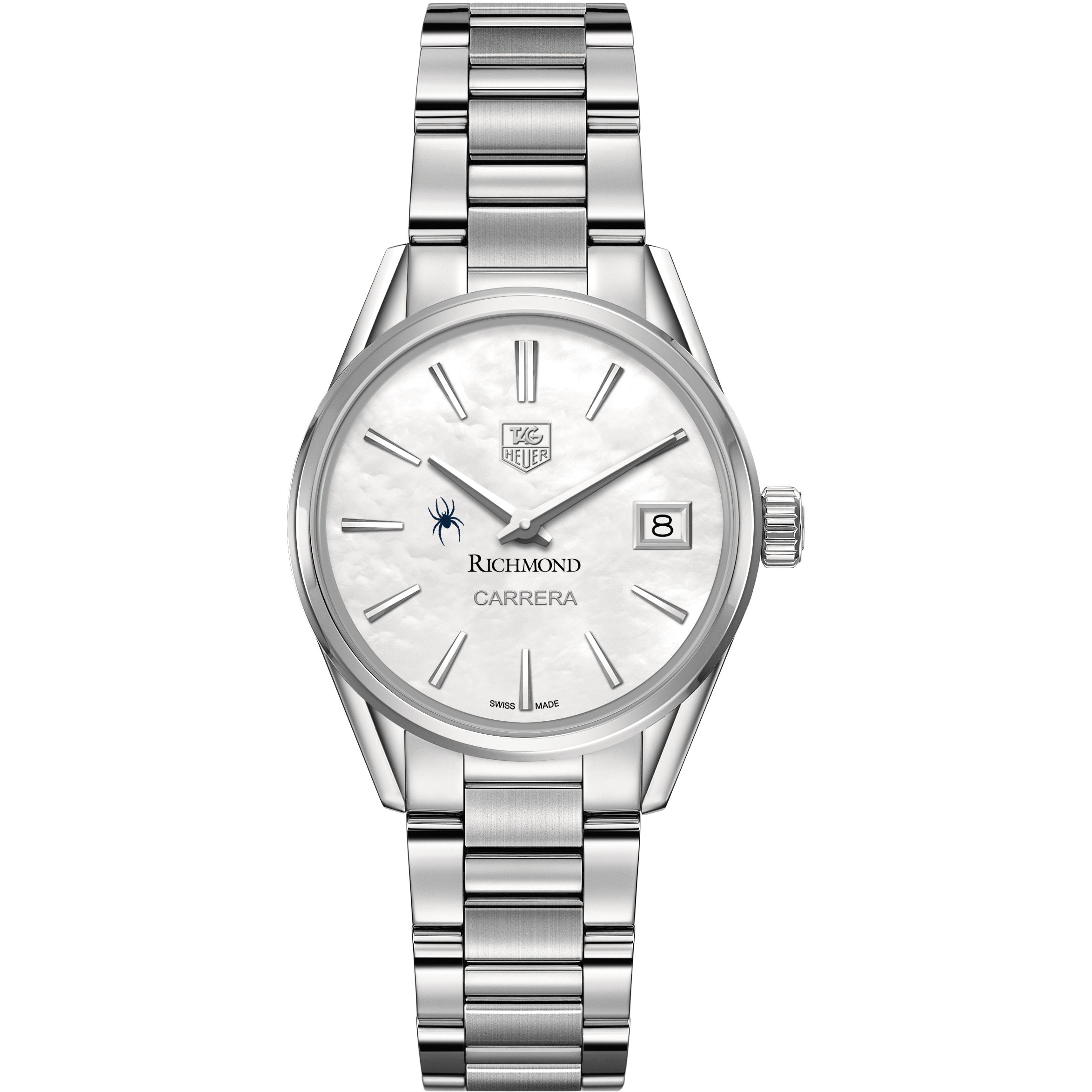 University of Richmond Women's TAG Heuer Steel Carrera with MOP Dial - Image 2
