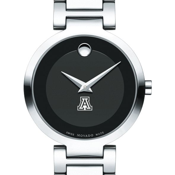 University of Arizona Women's Movado Museum with Steel Bracelet