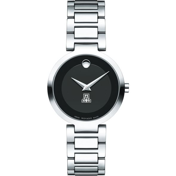 University of Arizona Women's Movado Museum with Steel Bracelet - Image 2