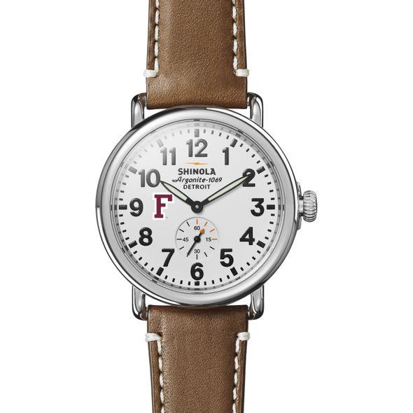 Fordham Shinola Watch, The Runwell 41mm White Dial - Image 2