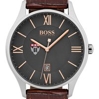 Harvard Business School Men's BOSS Classic with Leather Strap from M.LaHart