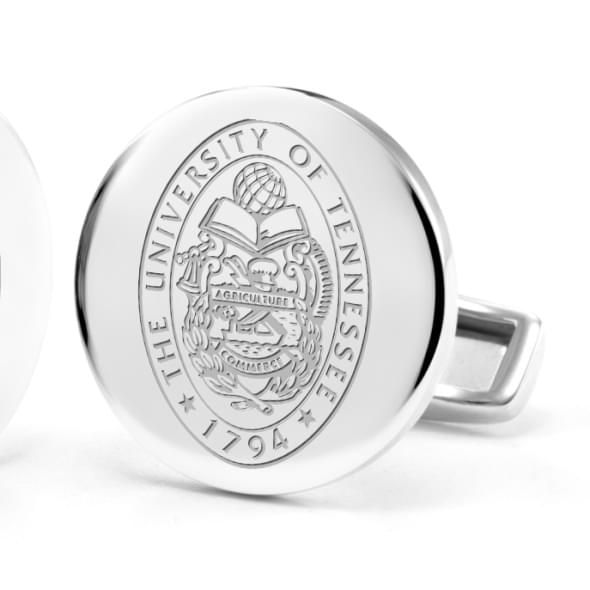 University of Tennessee Cufflinks in Sterling Silver - Image 2