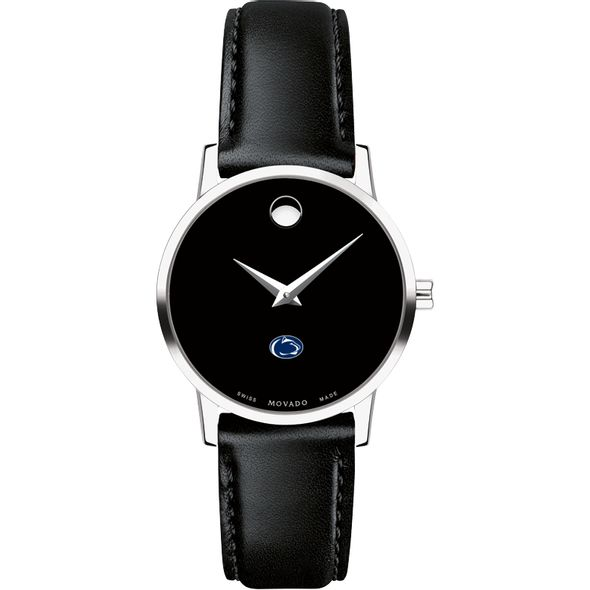 Penn State University Women's Movado Museum with Leather Strap - Image 2
