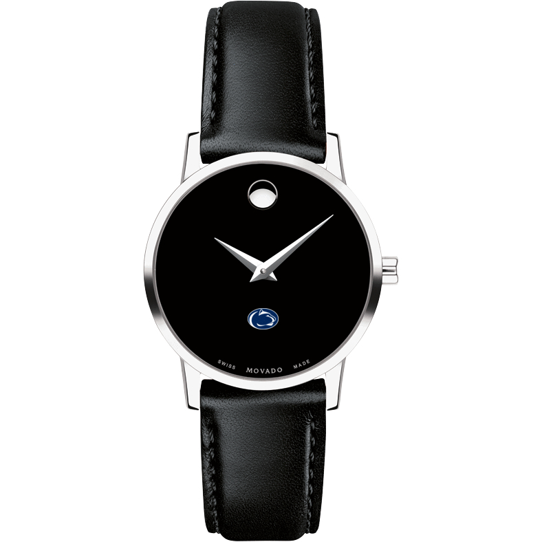 Penn State Women's Movado Museum with Leather Strap - Image 2