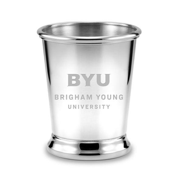 Brigham Young University Pewter Julep Cup