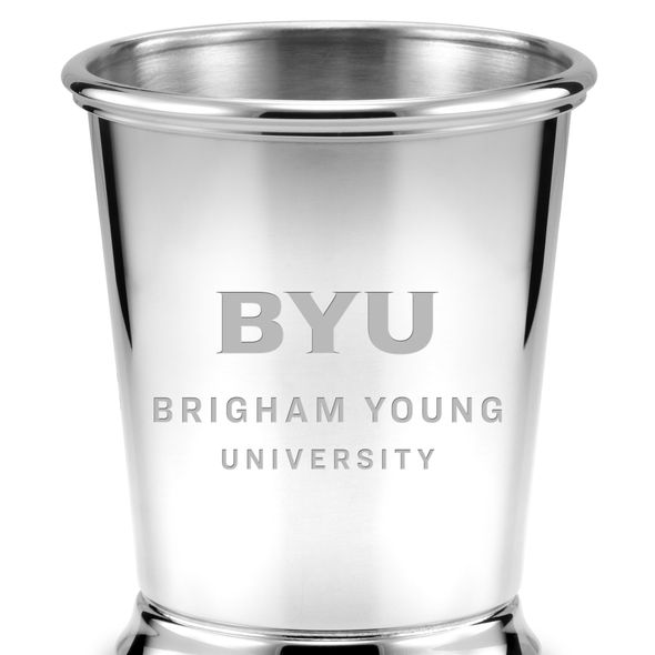 Brigham Young University Pewter Julep Cup - Image 2