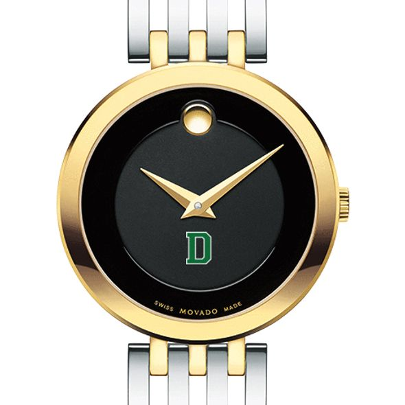 Dartmouth College Women's Movado Esparanza Two-Tone Museum with Bracelet