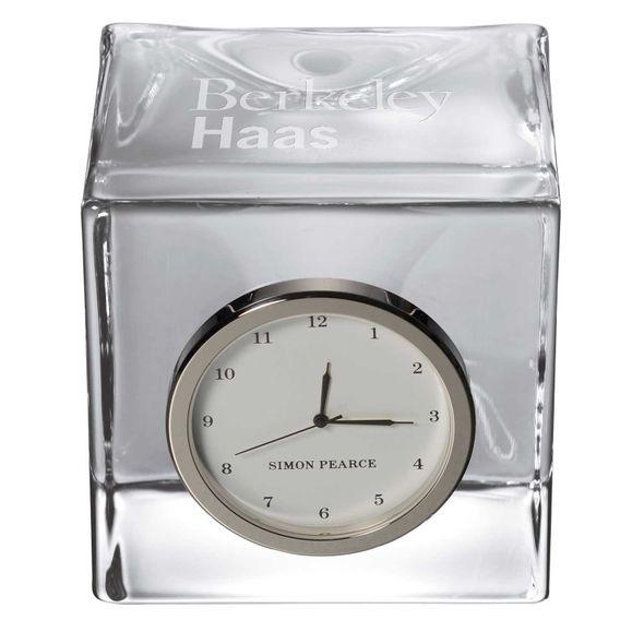 Berkeley Haas Glass Desk Clock by Simon Pearce - Image 2