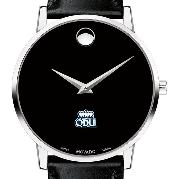 Old Dominion Men's Movado Museum with Leather Strap