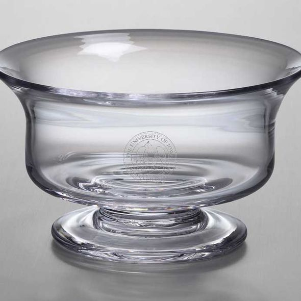 University of Iowa Simon Pearce Glass Revere Bowl Med - Image 2