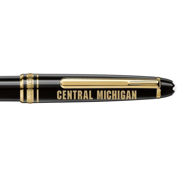 Central Michigan Montblanc Meisterstück Classique Ballpoint Pen in Gold - Image 2