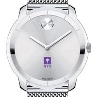NYU Men's Movado Stainless Bold 44