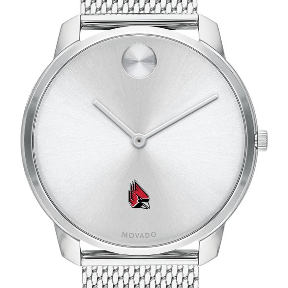 Ball State University Men's Movado Stainless Bold 42 - Image 1