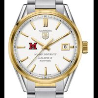Miami University Men's TAG Heuer Two-Tone Carrera with Bracelet