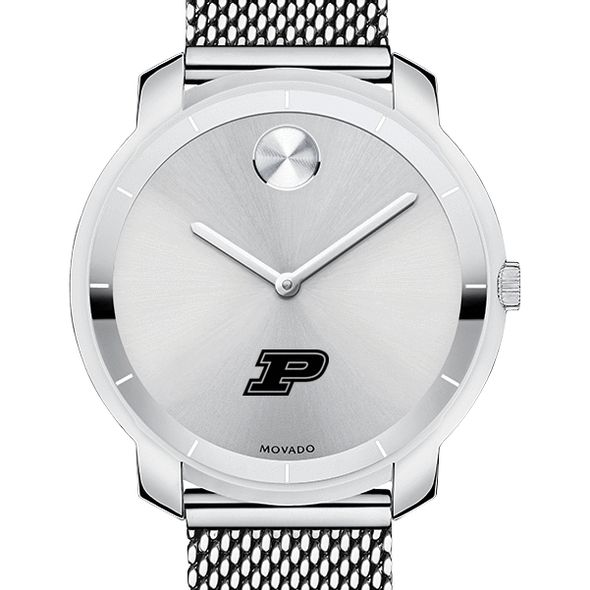 Purdue University Women's Movado Stainless Bold 36