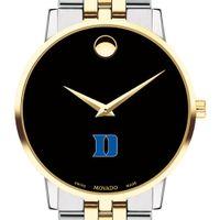 Duke Men's Movado Two-Tone Museum Classic Bracelet
