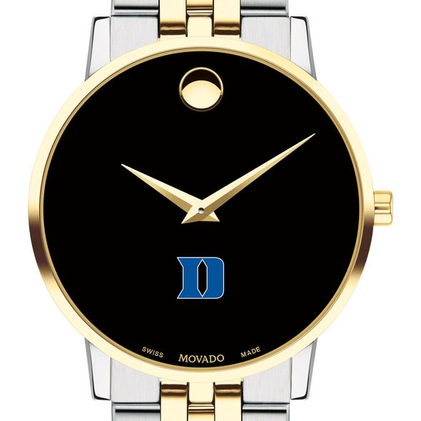 Duke Men's Movado Two-Tone Museum Classic Bracelet