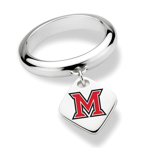 Miami University in Ohio Sterling Silver Ring with Sterling Tag