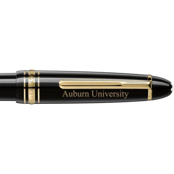 Auburn University Montblanc Meisterstück LeGrand Ballpoint Pen in Gold - Image 2