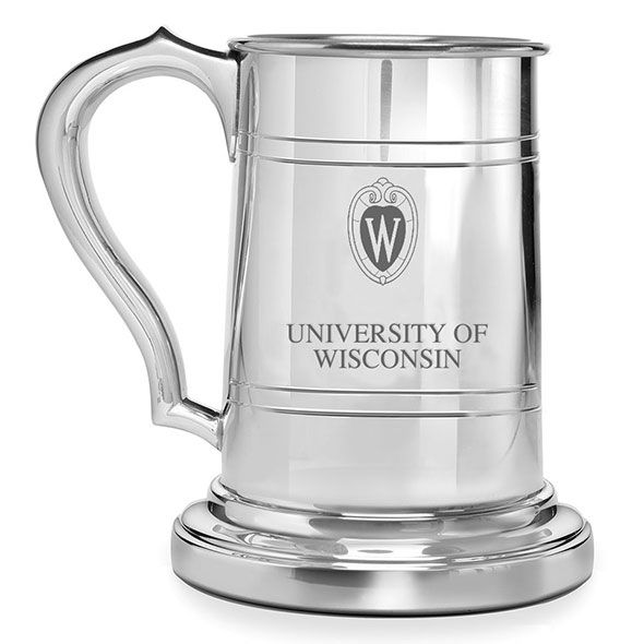Wisconsin Pewter Stein