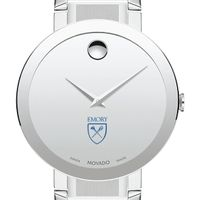 Emory University Men's Movado Sapphire Museum with Bracelet