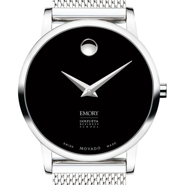Emory Goizueta Business School Women's Movado Museum with Mesh Bracelet