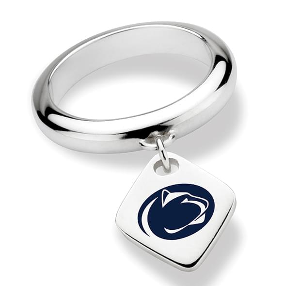 Penn State Sterling Silver Ring with Sterling Tag