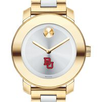 Boston University Women's Movado Two-Tone Bold