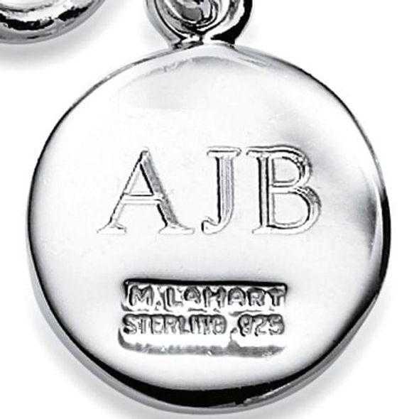 Miami University Sterling Silver Insignia Key Ring - Image 3