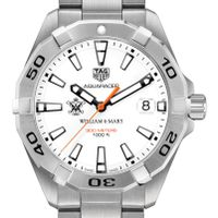 College of William & Mary Men's TAG Heuer Steel Aquaracer