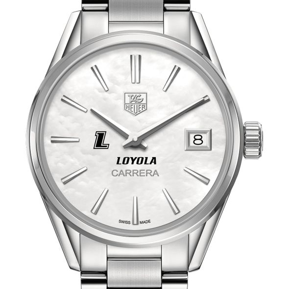 Loyola Women's TAG Heuer Steel Carrera with MOP Dial - Image 1