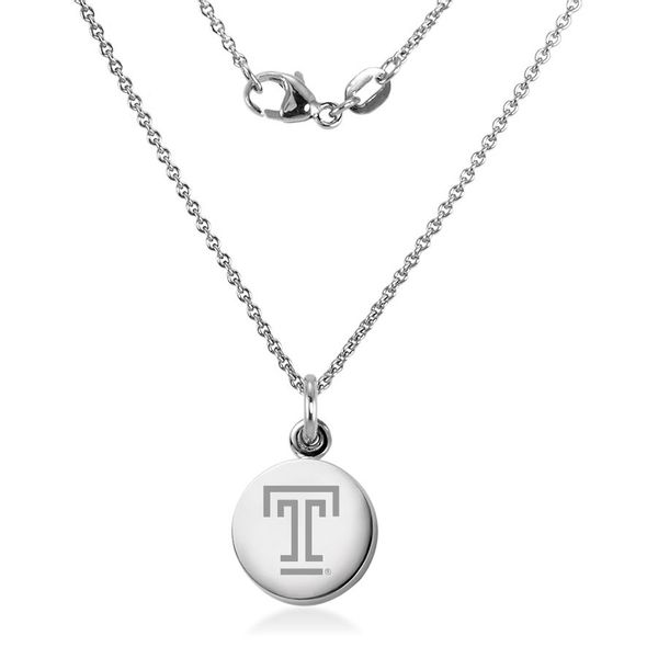Temple Necklace with Charm in Sterling Silver - Image 2