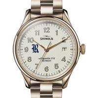 Rice Shinola Watch, The Vinton 38mm Ivory Dial