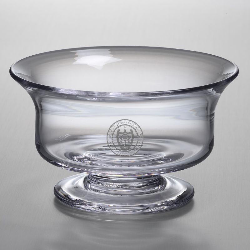 Georgia Tech Medium Glass Revere Bowl by Simon Pearce