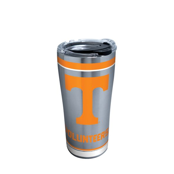 Tennessee 20 oz. Stainless Steel Tervis Tumblers with Hammer Lids - Set of 2 - Image 1