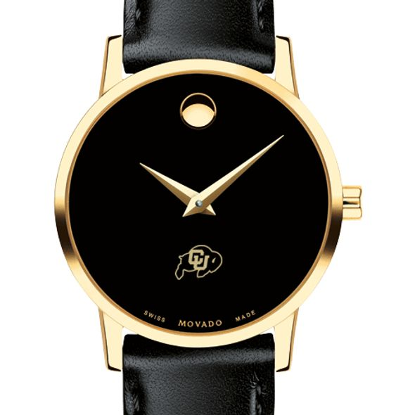 Colorado Women's Movado Gold Museum Classic Leather - Image 1