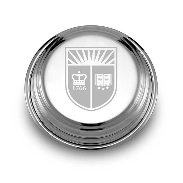 Rutgers University Pewter Paperweight