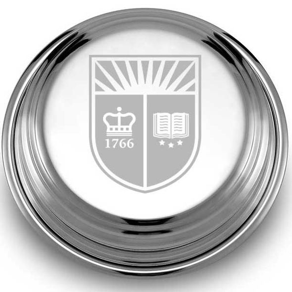 Rutgers University Pewter Paperweight - Image 2