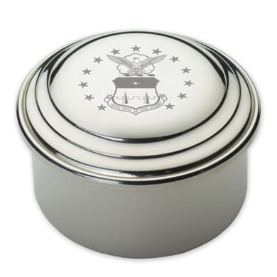 Air Force Academy Pewter Keepsake Box