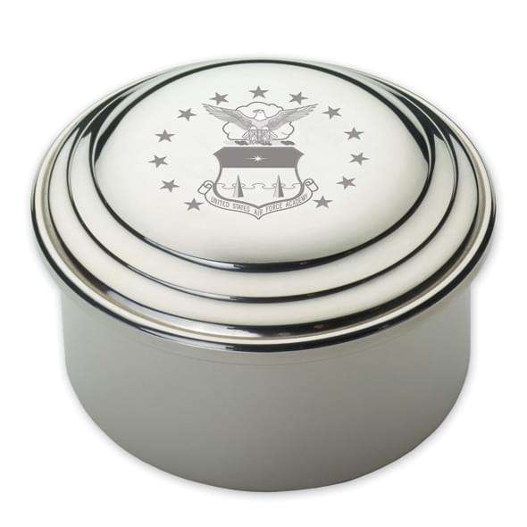 Air Force Academy Pewter Keepsake Box - Image 2