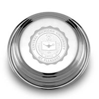 Central Michigan Pewter Paperweight