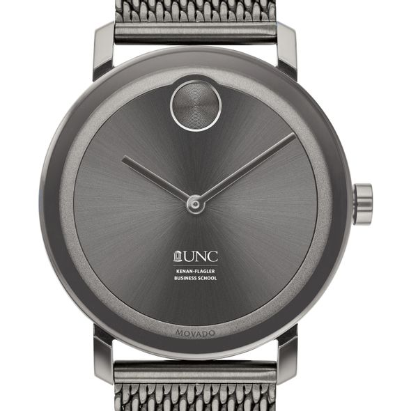 UNC Kenan–Flagler Business School Men's Movado BOLD Gunmetal Grey with Mesh Bracelet