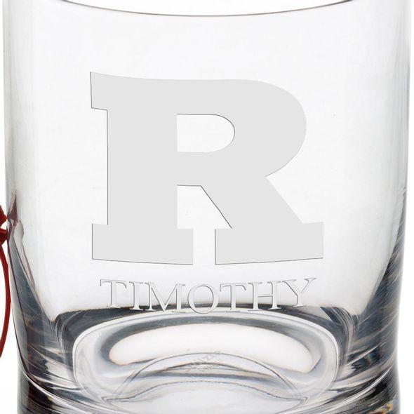 Rutgers University Tumbler Glasses - Set of 4 - Image 3