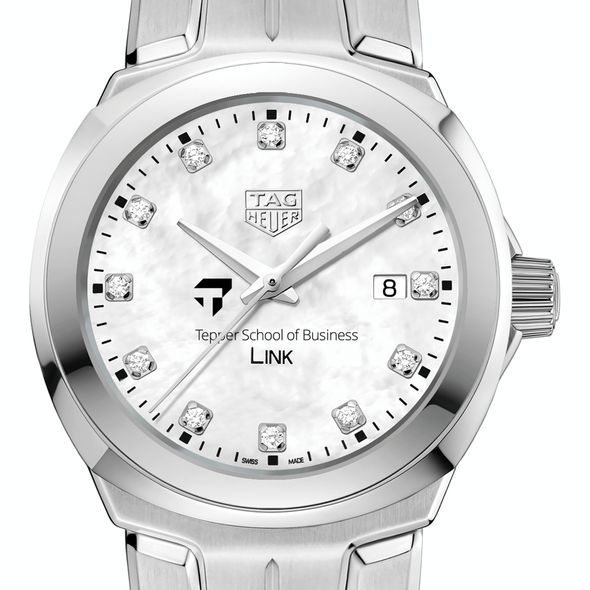 Tepper TAG Heuer Diamond Dial LINK for Women