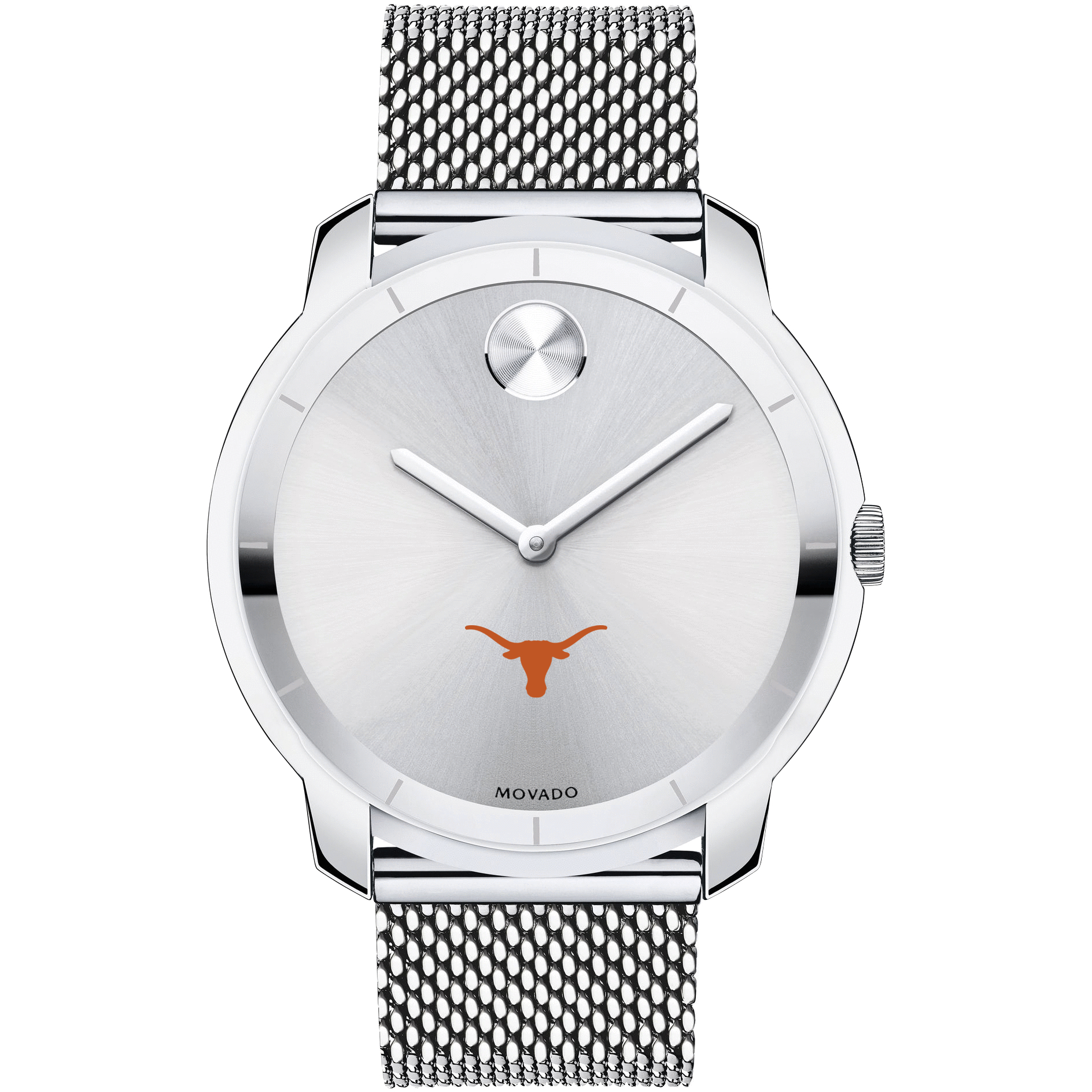 Texas Men's Movado Stainless Bold 44 - Image 2