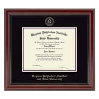 Virginia Tech Diploma Frame, the Fidelitas