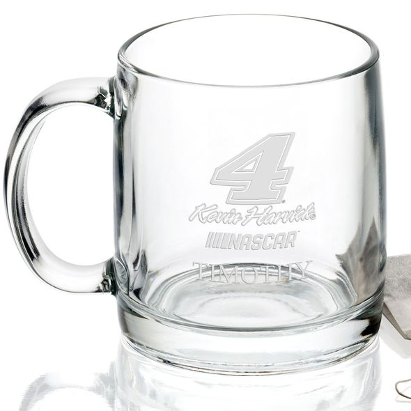 Kevin Harvick Glass Coffee Mug - Image 2